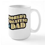 Worlds Greatest Dad Large Mug