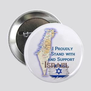 "I Stand With Israel - 2.25"" Button"