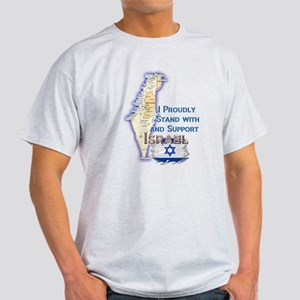 I Stand With Israel - Light T-Shirt