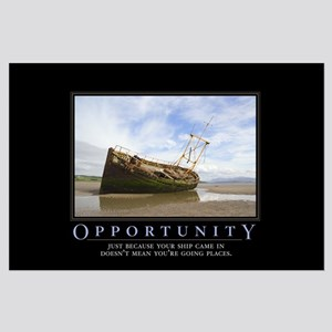 Opportunity Large Poster