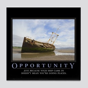 Opportunity Tile Coaster
