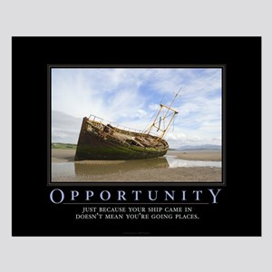 Opportunity Small Poster
