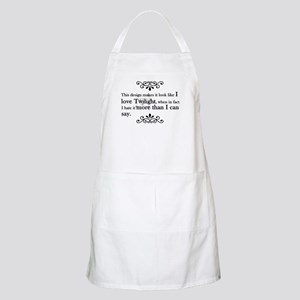 'Anti-Twilight' Apron