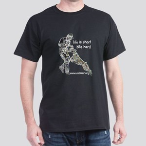 USA-BOX Life is short.. Dark T-Shirt