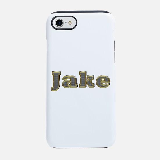 Jake Gold Diamond Bling iPhone 7 Tough Case