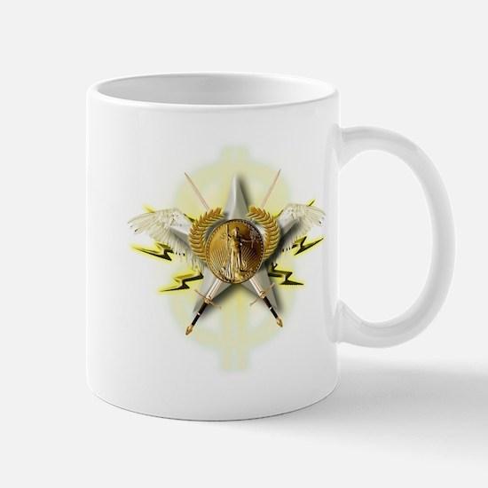 Golden Emblem of Wealth Mug