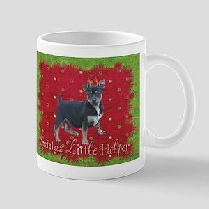 Rambling Terrier Christmas Mug