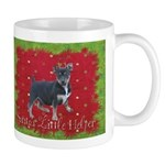 Rambling Terrier Christmas Mug