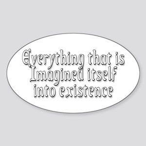 Everything Sticker (Oval)