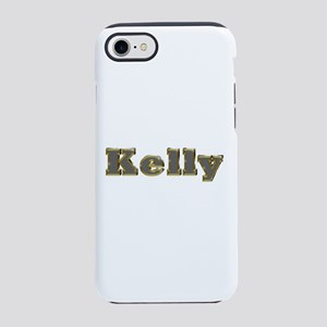 Kelly Gold Diamond Bling iPhone 7 Tough Case