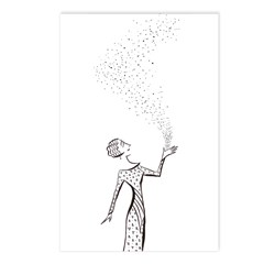 magic dust Postcards (Package of 8)