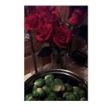brussels roses Postcards (Package of 8)