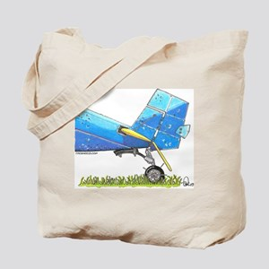 Blue Tail Tote Bag
