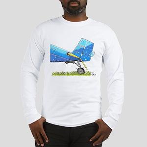 Blue Tail Long Sleeve T-Shirt