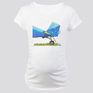 Blue Tail Maternity T-Shirt