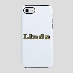 Linda Gold Diamond Bling iPhone 7 Tough Case
