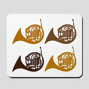 Horn Quartet Mousepad