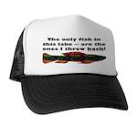 Men's Funny Fishing Trucker Hat