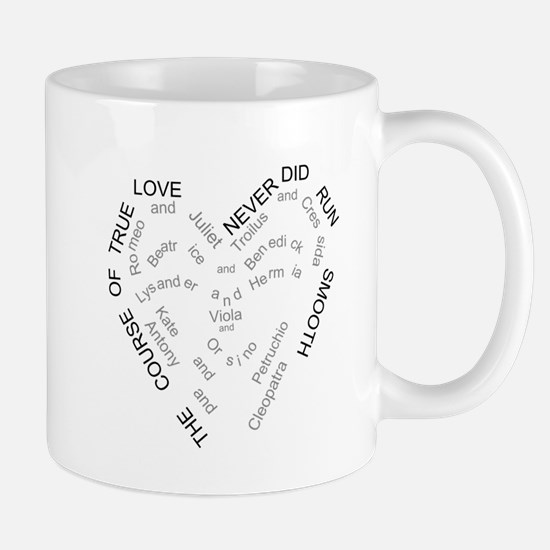 The course of true love... Mugs