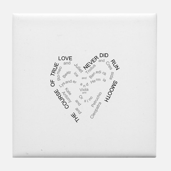 Cute Antony Tile Coaster
