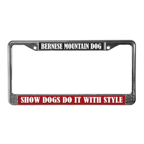 Show License Plate Frame