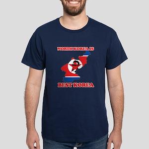 North Korea is Best Korea Dark T-Shirt