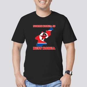 North Korea is Best Korea Men's Fitted T-Shirt (da