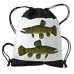 Amazon Wolf fish Trahira Drawstring Bag