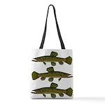 Amazon Wolf fish Trahira Polyester Tote Bag
