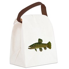 Amazon Wolf fish Trahira Canvas Lunch Bag