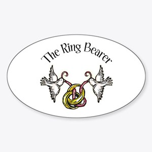The Ring Bearer Sticker (Oval)
