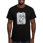 Hug Me Men's Fitted T-Shirt (dark)