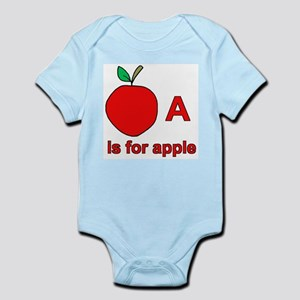 A is for Apple Infant Creeper