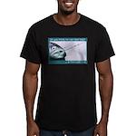 Hook Pain Men's Fitted T-Shirt (dark)