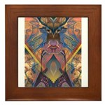 African Sculpture Framed Tile