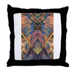 African Sculpture Throw Pillow