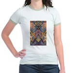 African Sculpture Jr. Ringer T-Shirt