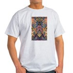 African Sculpture Ash Grey T-Shirt