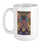 African Sculpture Large Mug