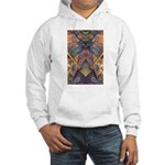 African Sculpture Hooded Sweatshirt