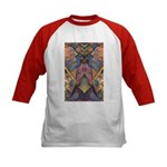 African Sculpture Kids Baseball Jersey