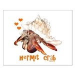 Hermit Crab Small Poster