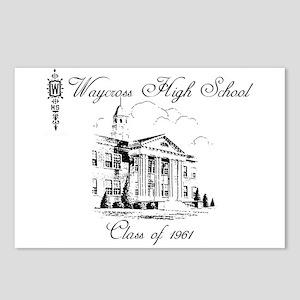 Waycross High School Postcards Cafepress