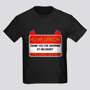 Hellmart Greeting Kids Dark T-Shirt