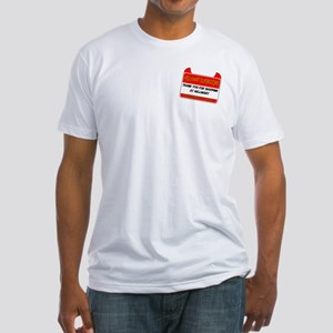 Hellmart Greeting Fitted T-Shirt