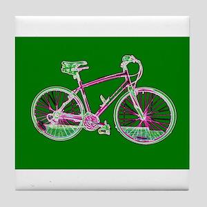 Bicycle / Cycling / Bike Tile Coaster / Trivet