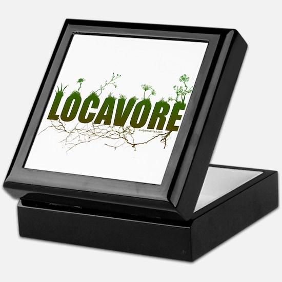 Locavore buy locally realfood Keepsake Box