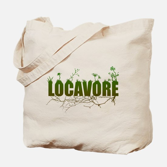Locavore buy locally realfood Tote Bag