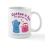 Coffee & Tea Are Gluten Free Mug