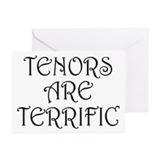 Fun Tenors Are Terrific Greeting Cards (Pk of 10)